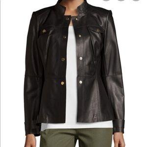 Layfayette 148 New York leather military jacket
